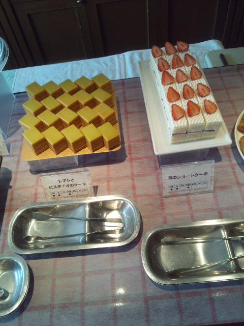 川崎日航ホテル 夜間飛行 チーズスイーツブッフェ_f0076001_2254377.jpg