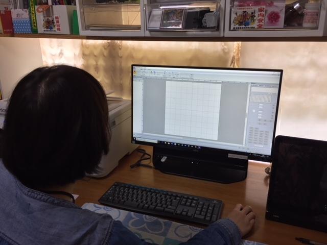 奈良からの刺繍プロ初心者教室生徒さん♪_c0316026_18220650.jpg