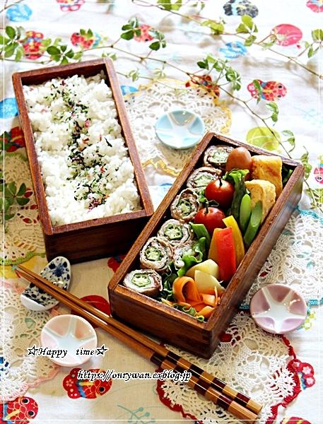 大葉と梅とオクラの肉巻き弁当と今週の作りおき♪_f0348032_17245070.jpg