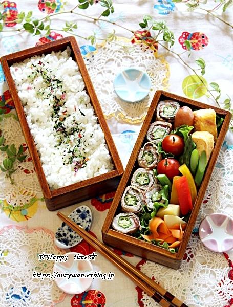 大葉と梅とオクラの肉巻き弁当と今週の作りおき♪_f0348032_17251399.jpg