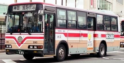 秋田市交通局の三菱ふそう中型車_e0030537_00382611.jpg