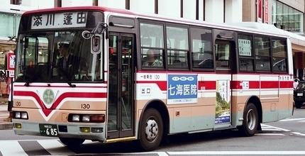 秋田市交通局の三菱ふそう中型車_e0030537_00382667.jpg