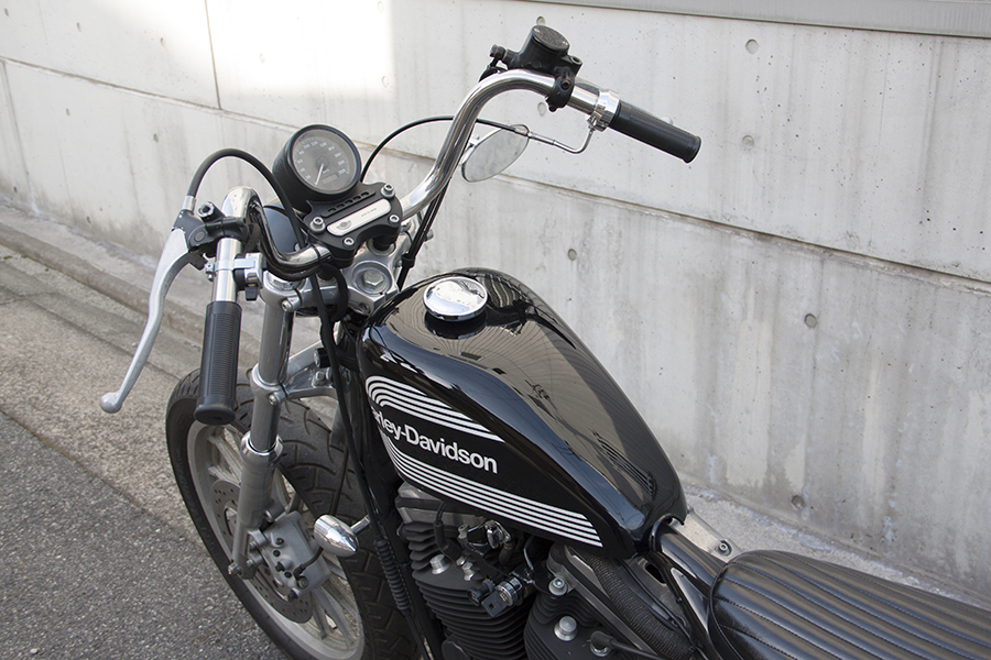 FOR SALE! HARLEY-DAVIDSON XL883R CUSTOM_e0182444_19491655.jpg