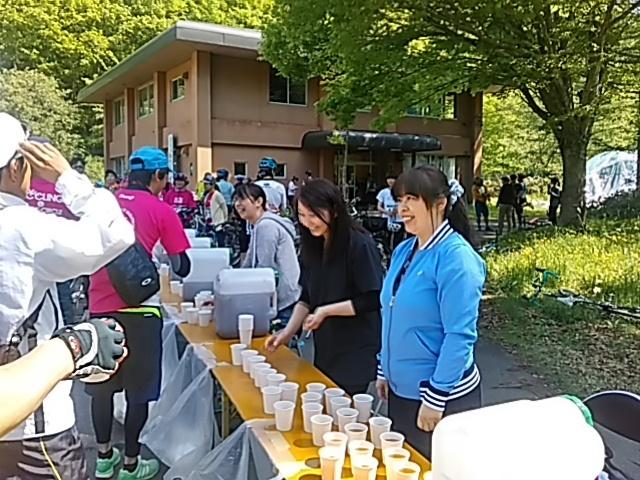 今日は「桧原湖一周ファミリーサイクリング大会」_c0160368_20073759.jpg