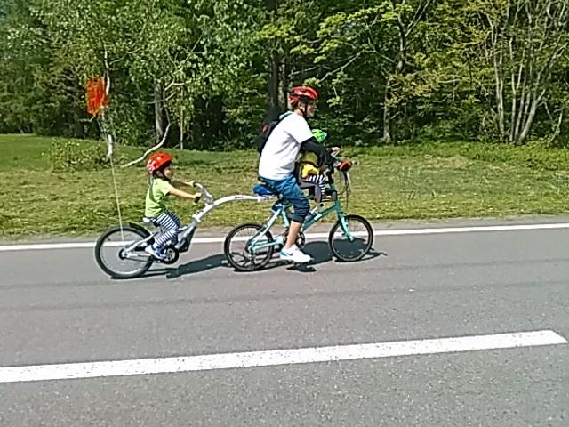 今日は「桧原湖一周ファミリーサイクリング大会」_c0160368_20222684.jpg
