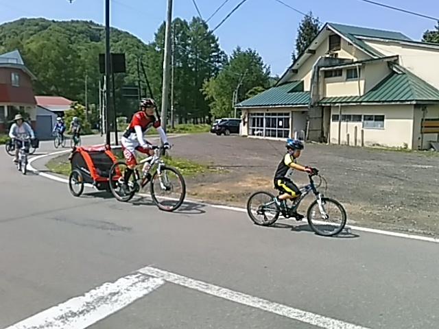 今日は「桧原湖一周ファミリーサイクリング大会」_c0160368_20224189.jpg