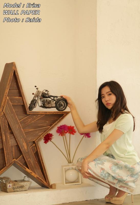 エリサ ~JAMAL STUDIO EBISU(東京) / WALL PAPER_f0367980_23305439.jpg