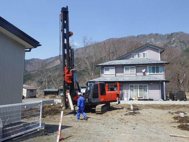 岩泉の家 着工しています。_f0105112_04452499.jpg
