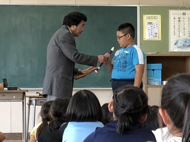 3年生 リコーダー教室_d0382316_14054051.jpeg