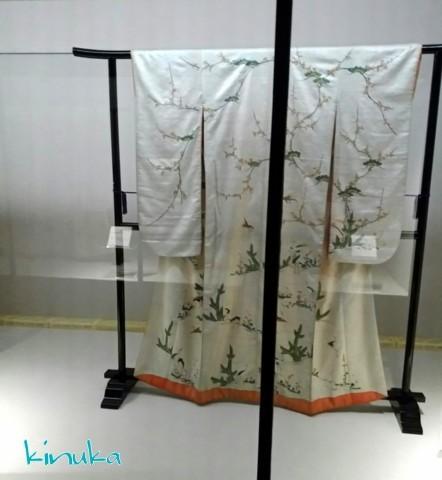江戸の粋とデザイン ー小袖コレクションからー:シルク博物館_f0205317_05425904.jpg