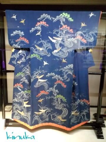 江戸の粋とデザイン ー小袖コレクションからー:シルク博物館_f0205317_05432223.jpg