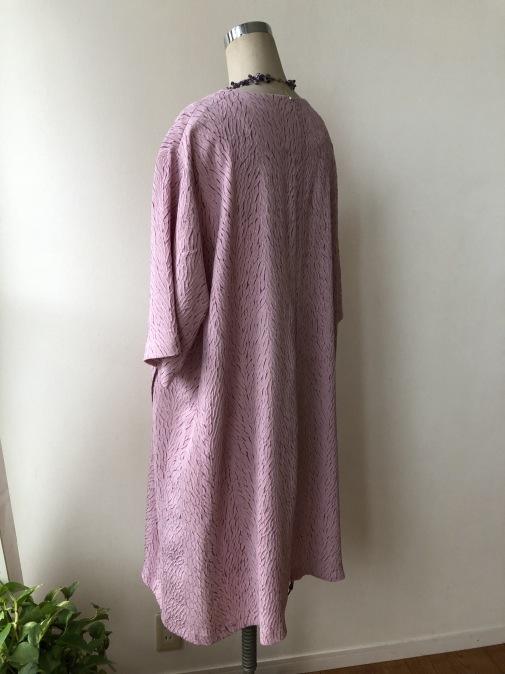 着物リメイク・羽織からスクエアカットワンピ_d0127925_09295110.jpg