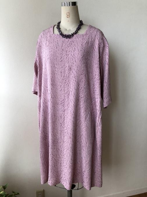 着物リメイク・羽織からスクエアカットワンピ_d0127925_09301604.jpg