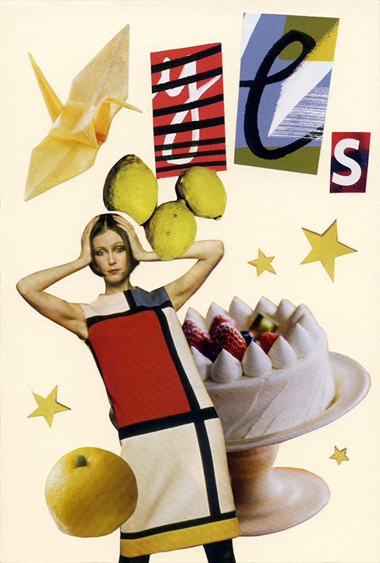 COLLAGE CARD #94 : yeS「イエス」_d0018646_03181759.jpg
