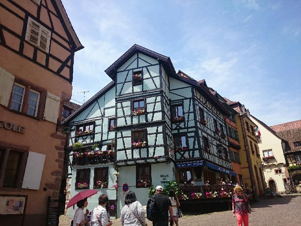 16世紀 木組みの街並み「リクビイル」_f0323446_05343861.jpg