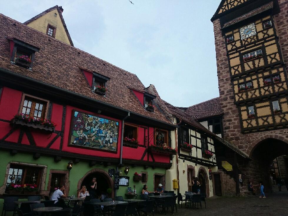 16世紀 木組みの街並み「リクビイル」_f0323446_05410508.jpg