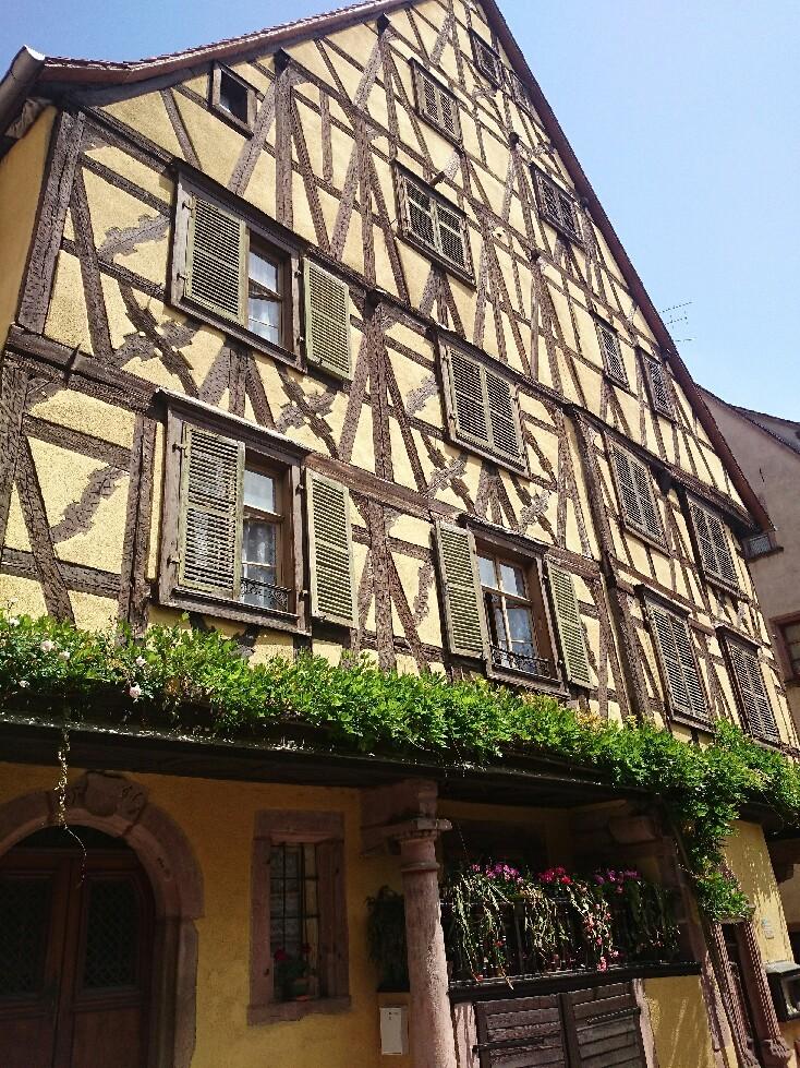 16世紀 木組みの街並み「リクビイル」_f0323446_05410552.jpg