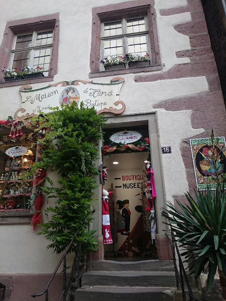 16世紀 木組みの街並み「リクビイル」_f0323446_05545792.jpg