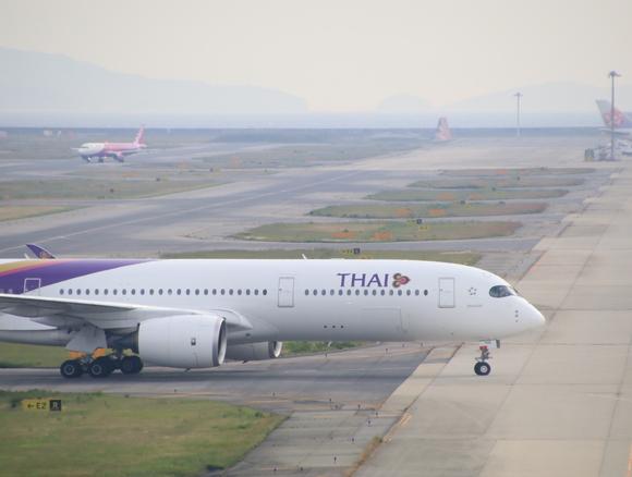 タイ航空TG エアバス350-900型 関空KIXレポート_d0202264_4201916.jpg