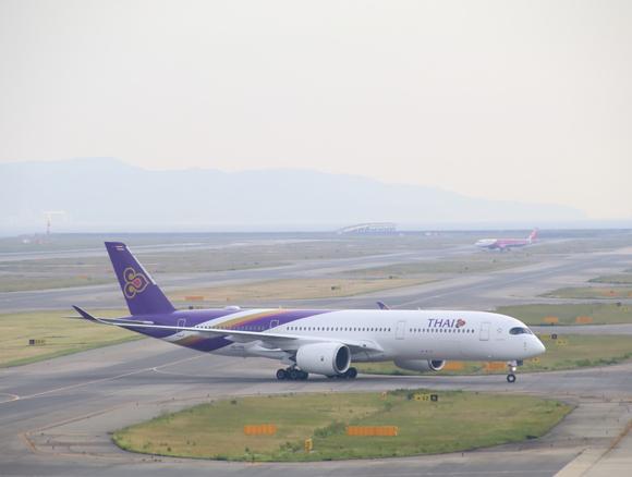 タイ航空TG エアバス350-900型 関空KIXレポート_d0202264_420278.jpg