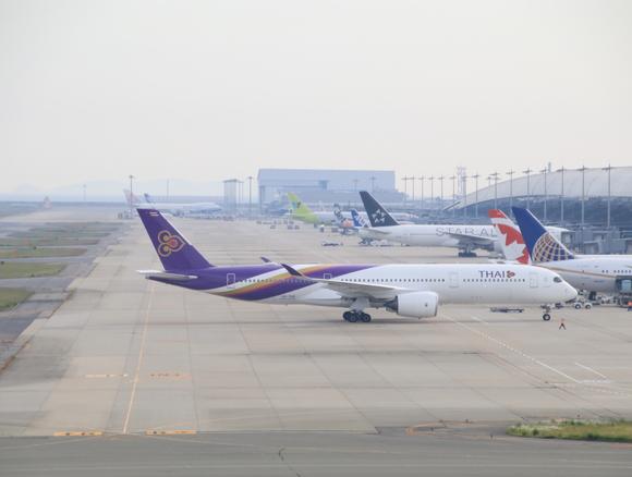 タイ航空TG エアバス350-900型 関空KIXレポート_d0202264_4204457.jpg