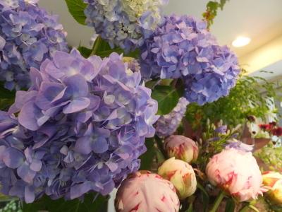 オークリーフ(スグリと紫陽花)_f0049672_16580243.jpg