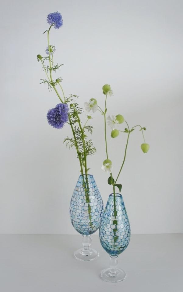 雫展出品作品 吉村桂子さんの雫型花器1_b0353974_22202051.jpg