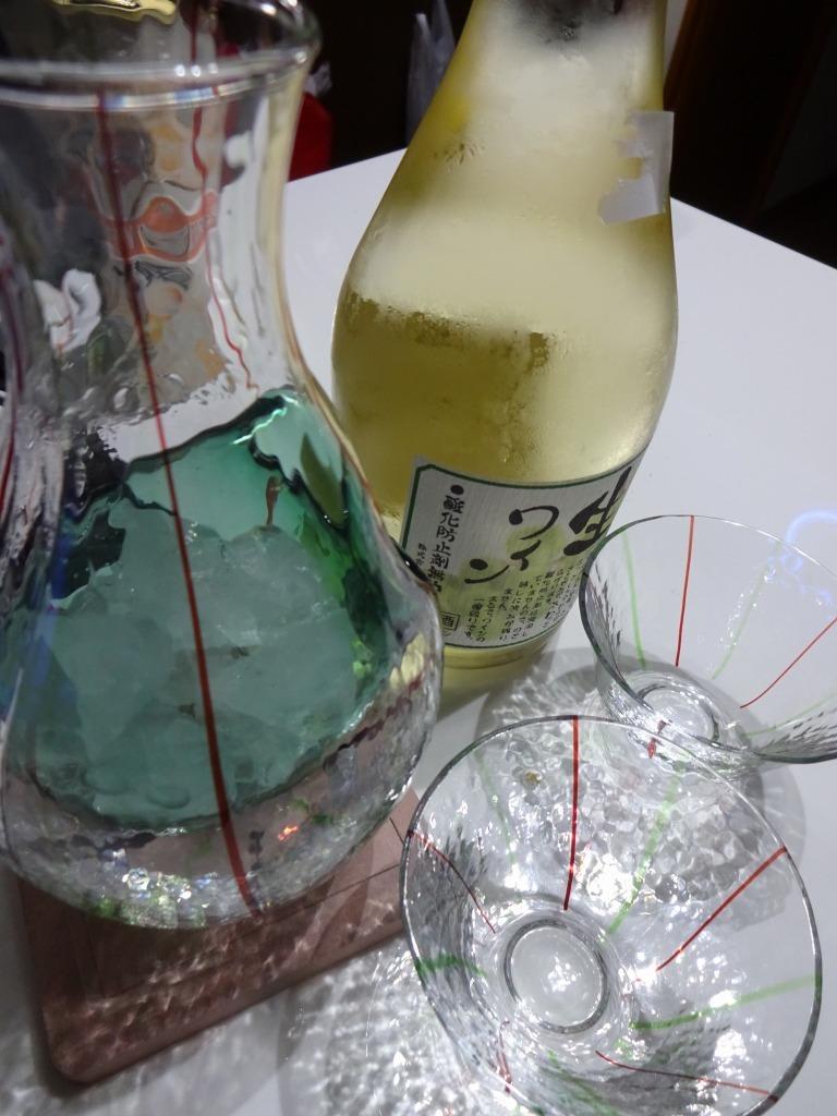 意識高い系酒 3 カラフェで無添加生ワイン(白)_d0061678_15293328.jpg