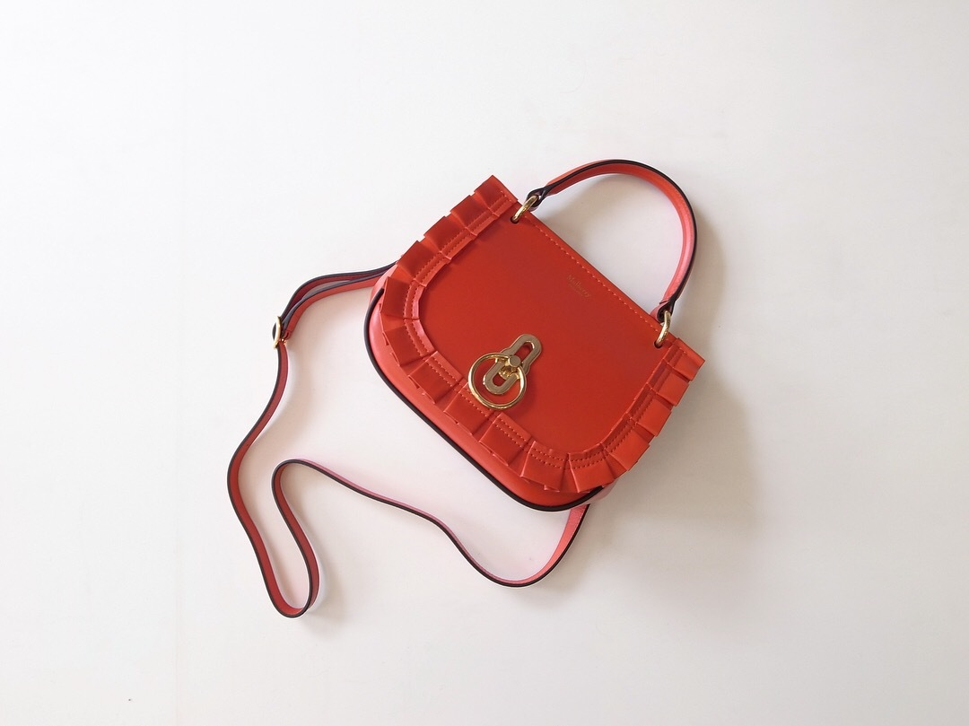 MULBERRY SMALL AMBERLEY SATCHEL LIPSTICK RED_f0111683_12371766.jpg
