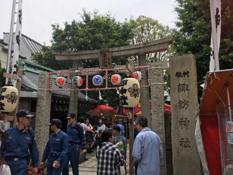 大森山谷自治会、諏訪神社。年に一度の伝統のお祭り。_a0112393_14184855.jpg