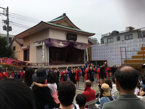 大森山谷自治会、諏訪神社。年に一度の伝統のお祭り。_a0112393_14185038.jpg