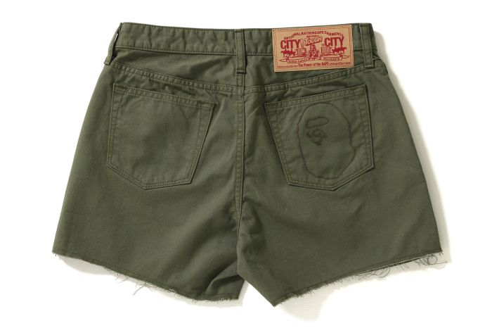APE HEAD COLOR SHORTS_a0174495_18460679.jpg