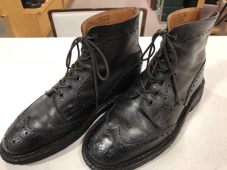 雨の日用の靴を育てる_d0166598_10573698.jpg