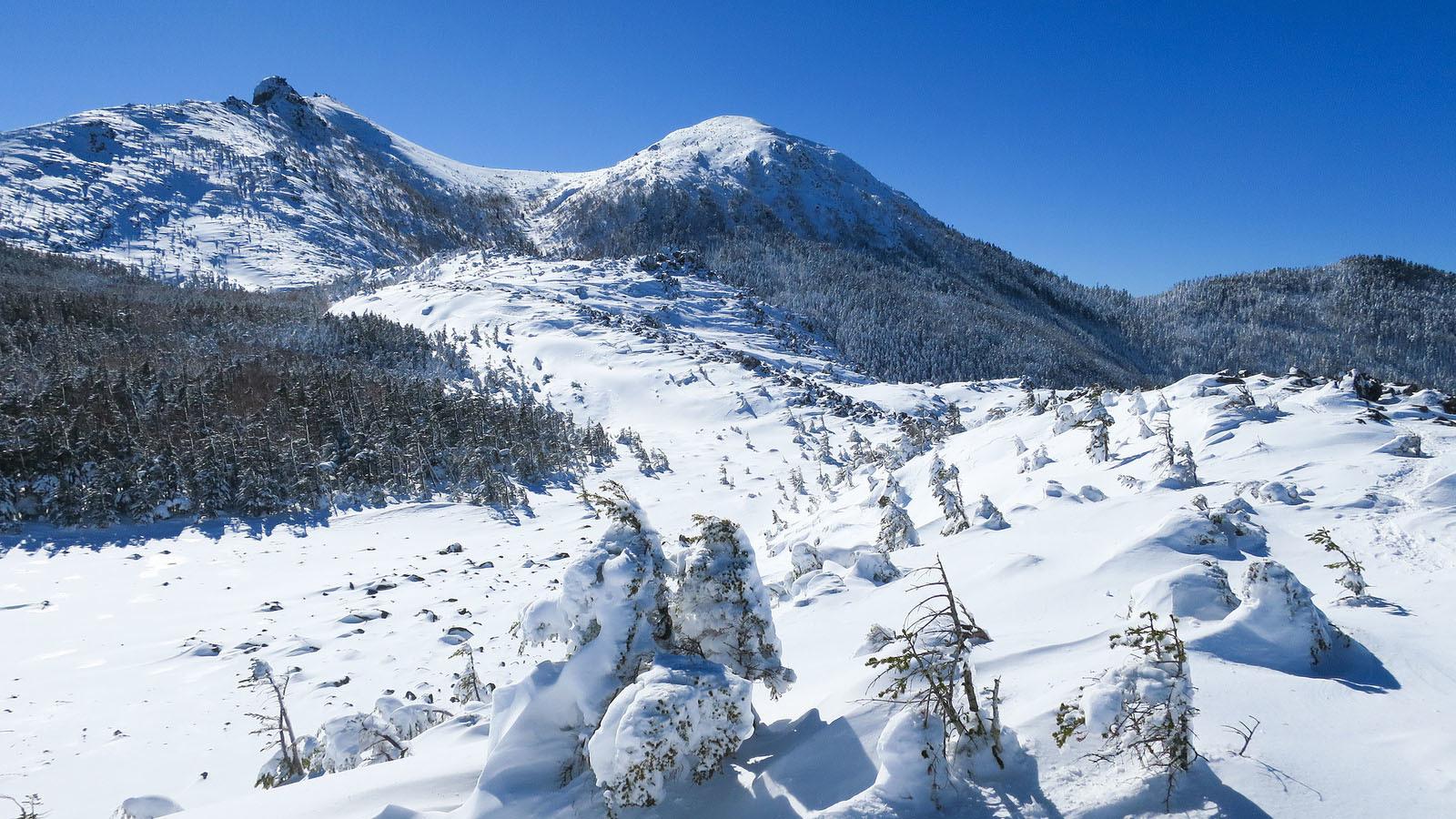 北八ヶ岳は天狗岳、18年越しのリベンジ。_b0029315_18541128.jpg