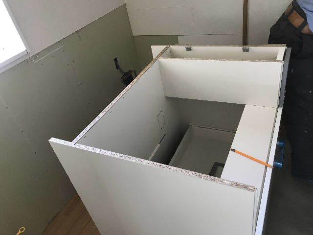 システムキッチン解体・設置_f0031037_19290481.jpg