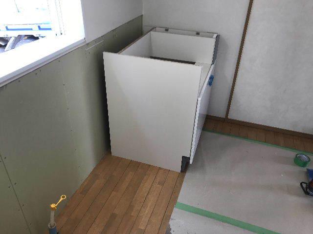 システムキッチン解体・設置_f0031037_19290529.jpg