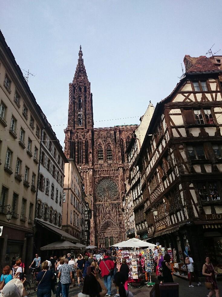 フランス ストラスブールは大都市_f0323446_06543456.jpg