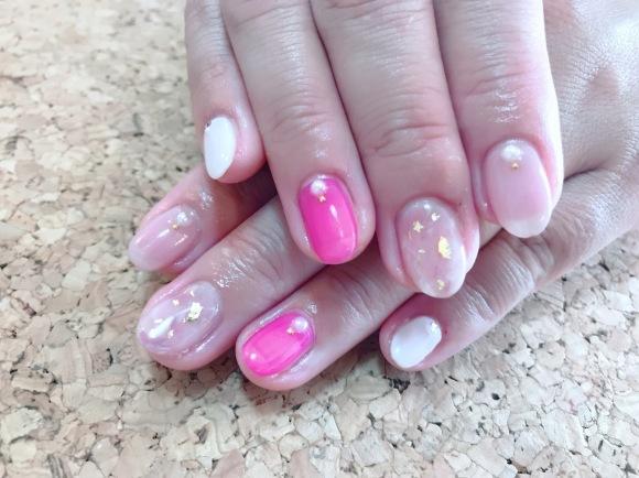 Pink Nail_a0239065_14051422.jpg
