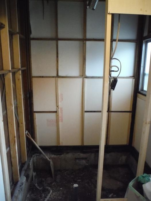 浴室リフォーム~木部補修_d0165368_01502132.jpg