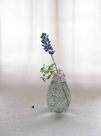 雫展出品作品 吉村桂子さんの雫型花器2_b0353974_13055928.jpg