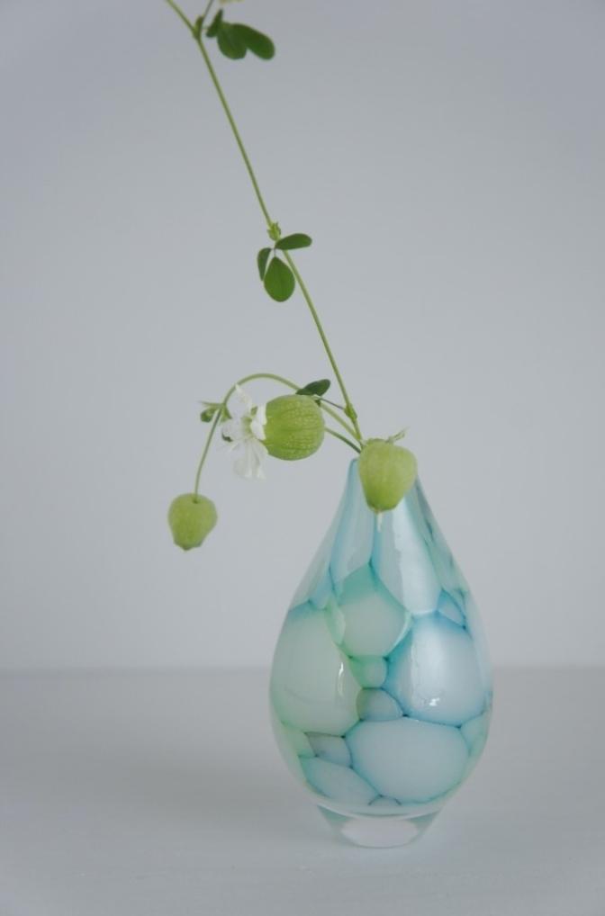雫展出品作品 吉村桂子さんの雫型花器2_b0353974_13061008.jpg