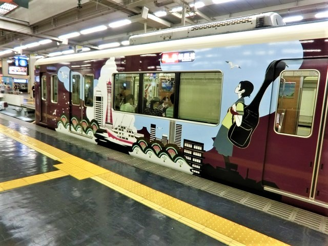 藤田八束の鉄道写真@お洒落な阪急電車に乗って文化都市を観光、関西は素晴らしい観光地・・・阪急電車に乗って京都・大阪・奈良そして神戸の観光地をお楽しみください_d0181492_22030118.jpg