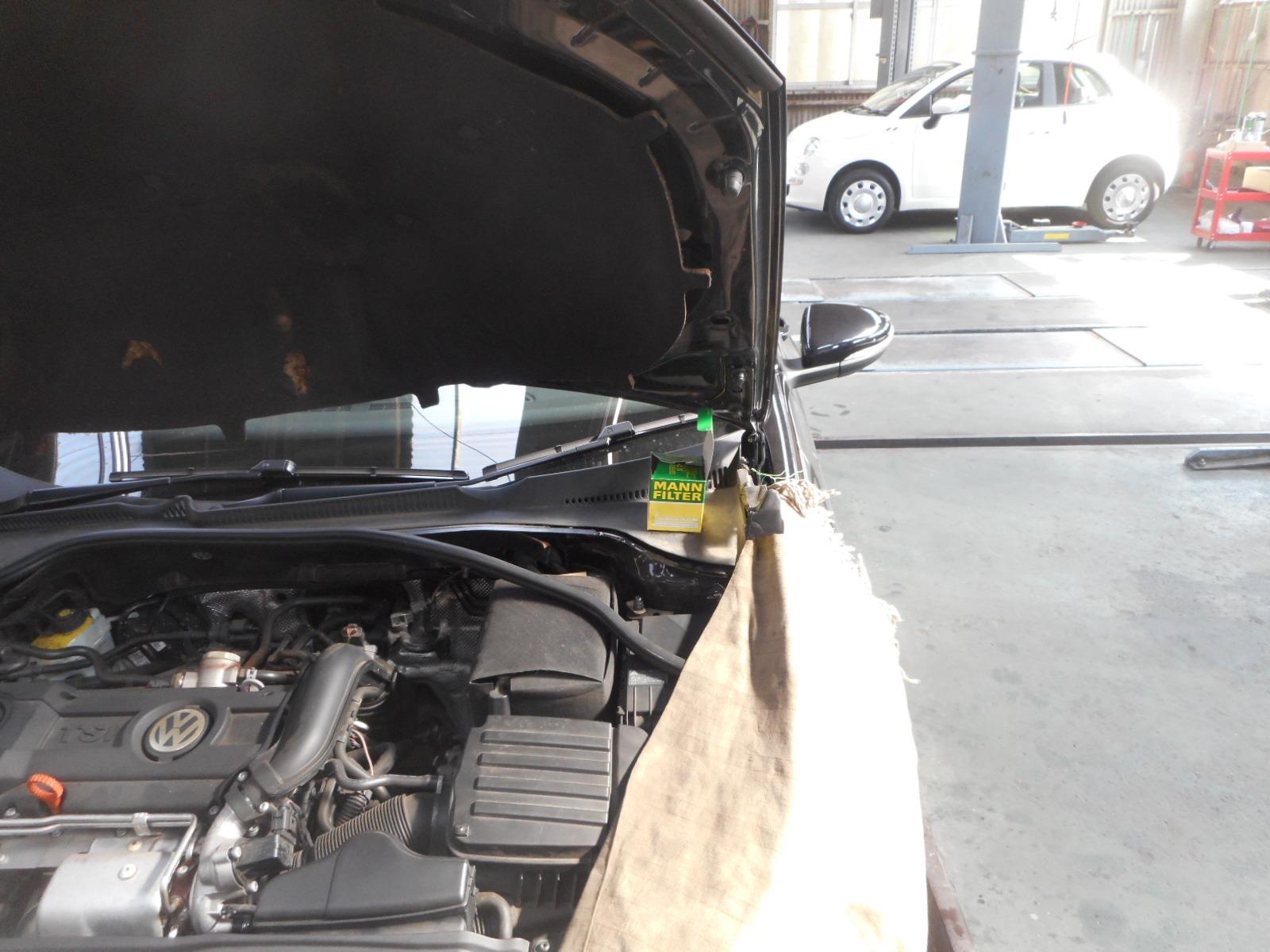 VWゴルフ6 TSI エアコン整備(エアクオリティセンサ交換)_c0267693_15274752.jpg