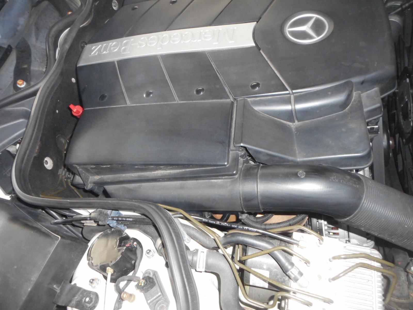 メルセデスベンツ E500(W211)整備~前編~ エンジンチェックランプ点灯(イグニッションコイル他)_c0267693_17452525.jpg