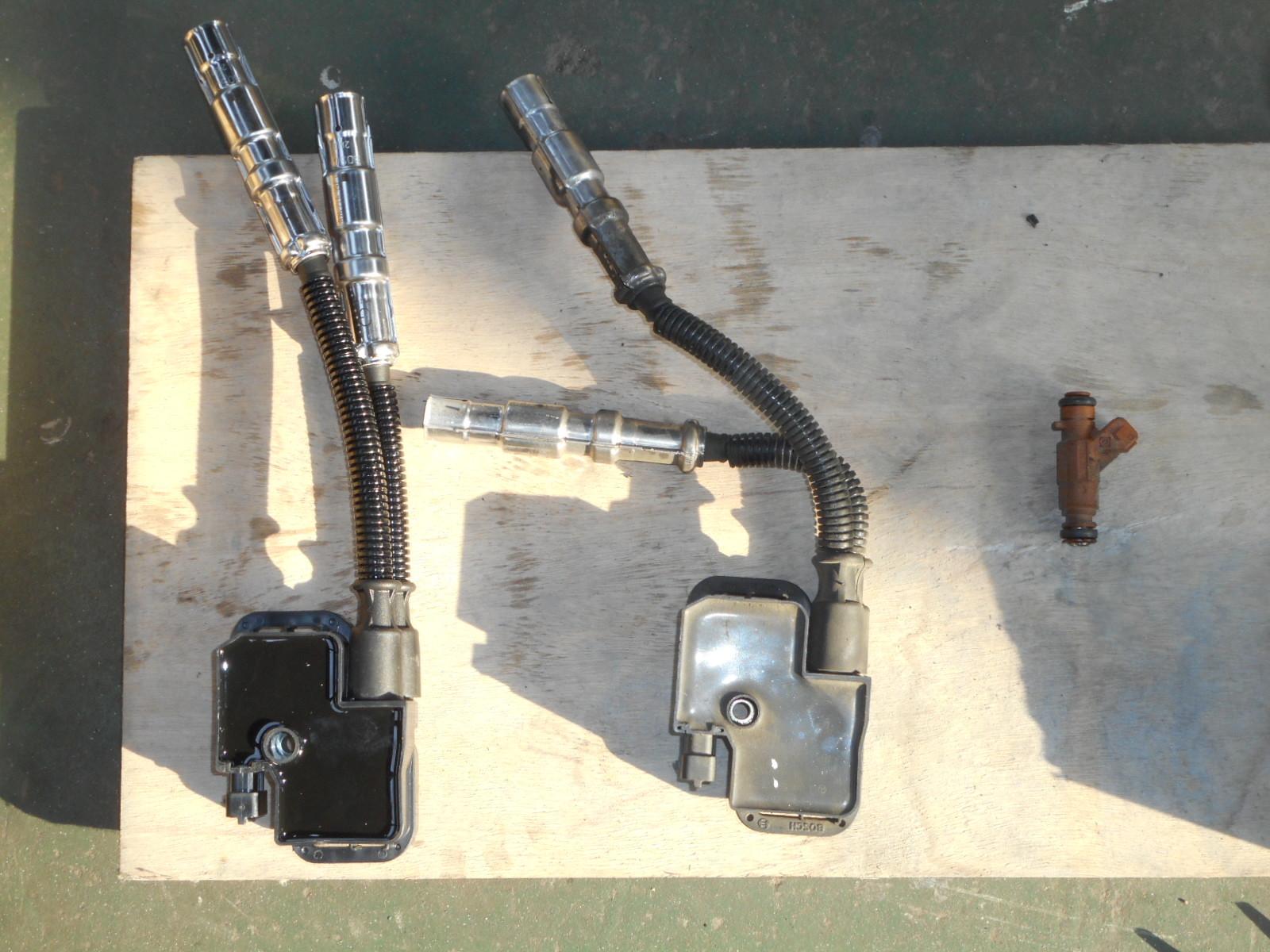 メルセデスベンツ E500(W211)整備~前編~ エンジンチェックランプ点灯(イグニッションコイル他)_c0267693_17453396.jpg