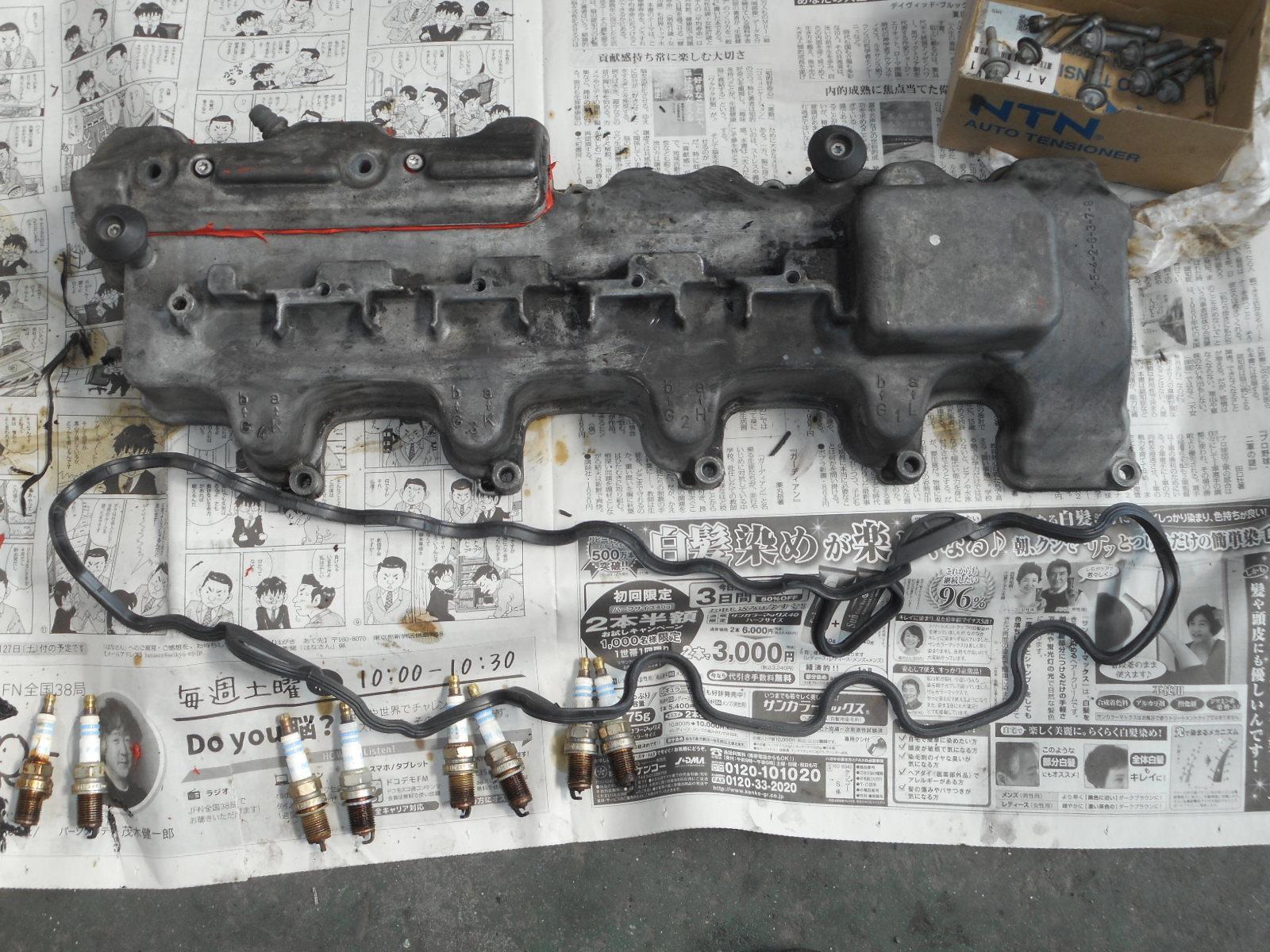 メルセデスベンツ E500(W211)整備 ~後編~ エンジンオイル漏れ修理_c0267693_18224135.jpg