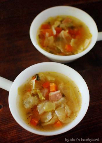 オーブン焼きチキン&野菜スープからのシチュー_b0253205_02382914.jpg