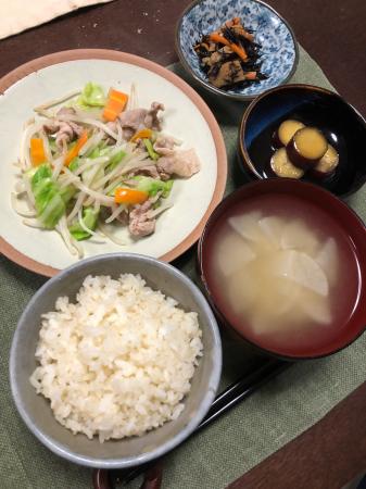 肉野菜炒め_d0235108_20460480.jpg