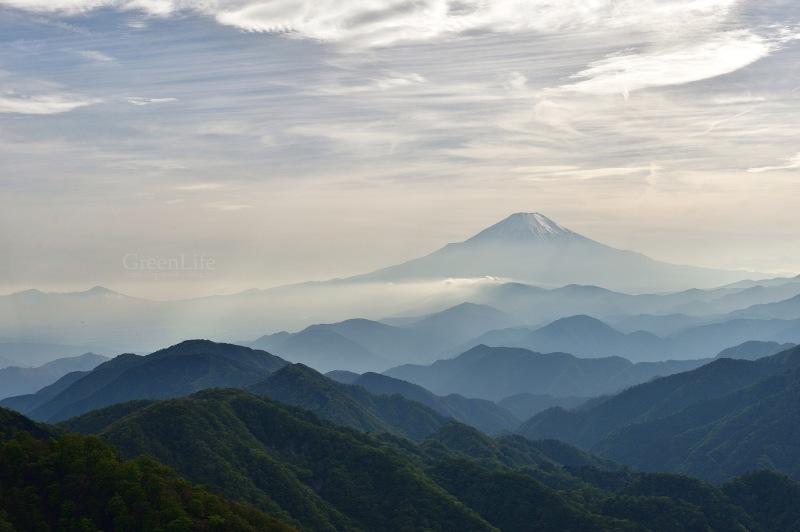 山頂からの富士_f0321522_20303750.jpg
