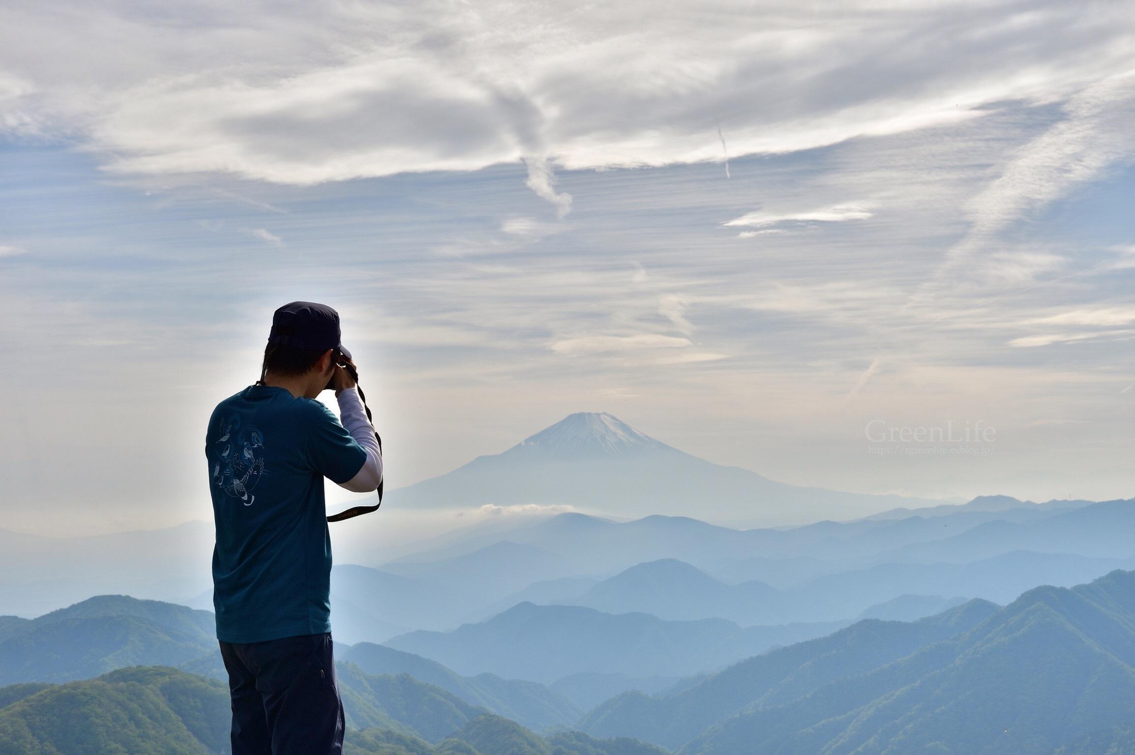 山頂からの富士_f0321522_20393995.jpg